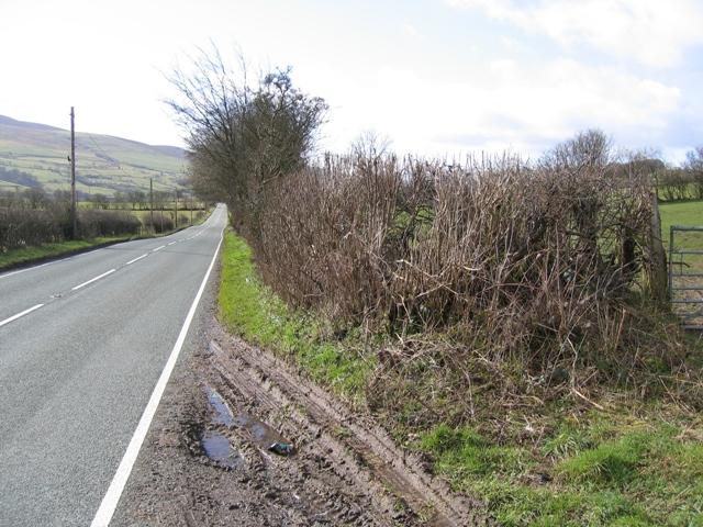 A5104 towards Corwen