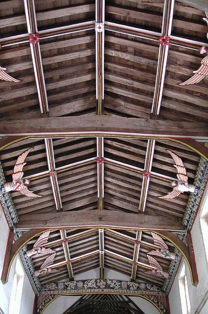 St Mary, Furneux Pelham, Herts Roof