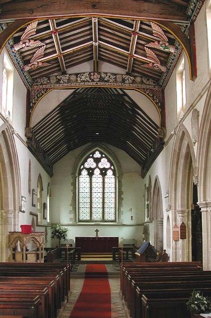 St Mary, Furneux Pelham, Herts - East end