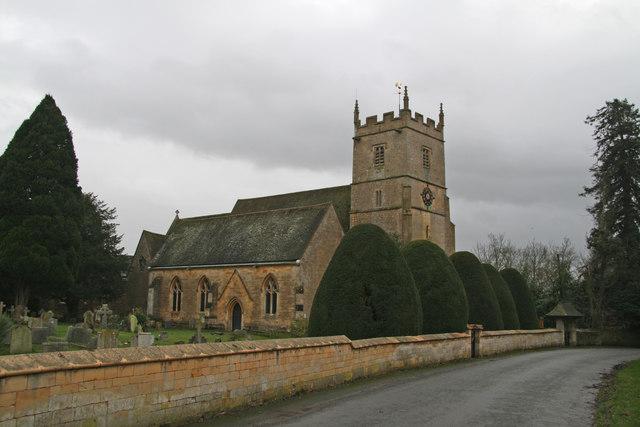 St. Nicholas church, Kemerton