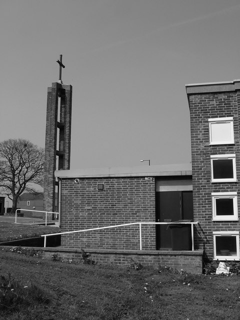 Side of Church on Blackstock Road
