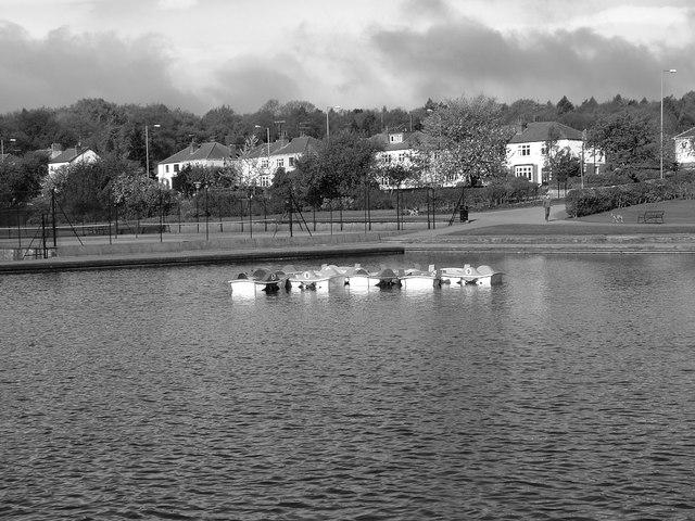 Millhouses Park Boating Lake