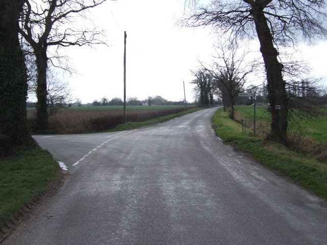 Junction at Wood Farm