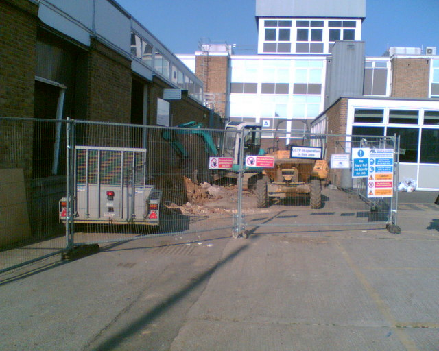 Havering College - Construction of New Main Entrance