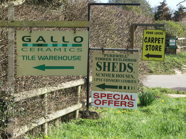 Signs for Lea Green Farm Retail Units