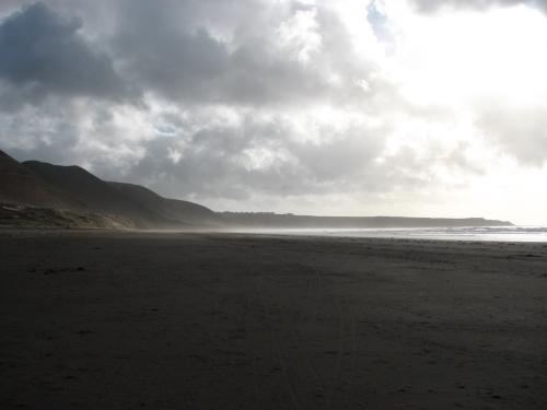 Llangennith Beach towards Rhossili