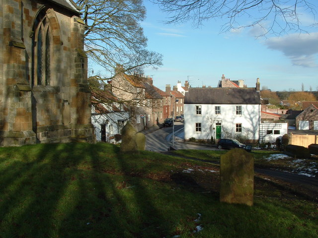 East Street, Kilham from the Churchyard
