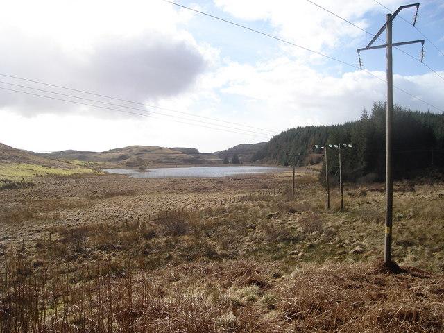 Lochan east of Oban Livestock Centre