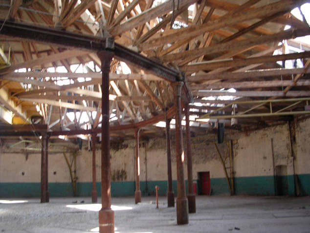 Roundhouse - Internal view