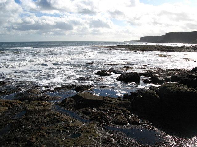 Berwickshire coastline from Lamberton