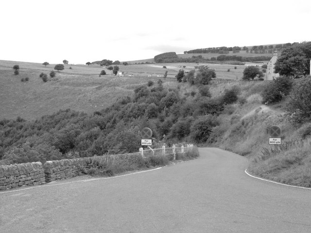 Road Down To Monsal Dale - from Monsal Head
