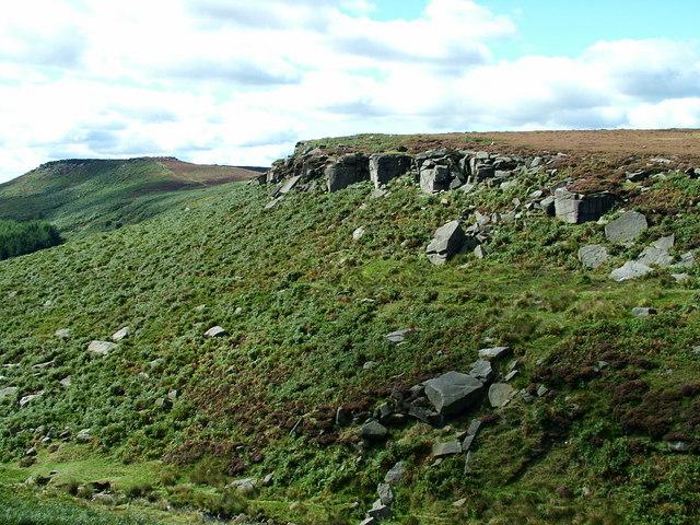 Burbage Rocks - Looking Towards Higger Tor