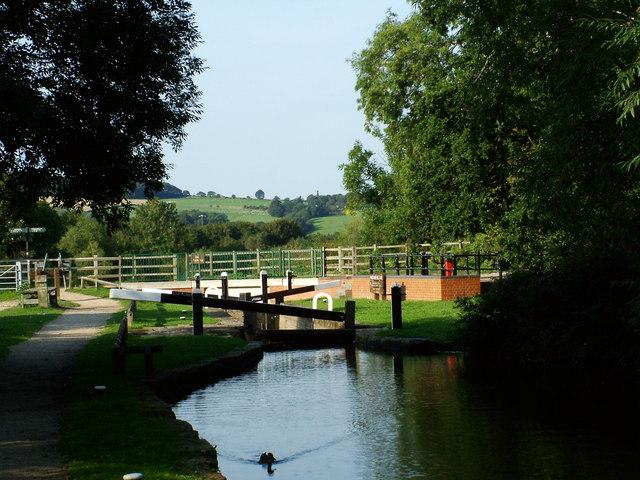 Chesterfield Canal - Wheeldon Mill Lock
