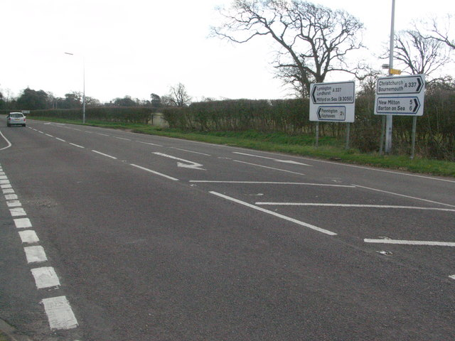 A337 at Everton (Everton bypass road)