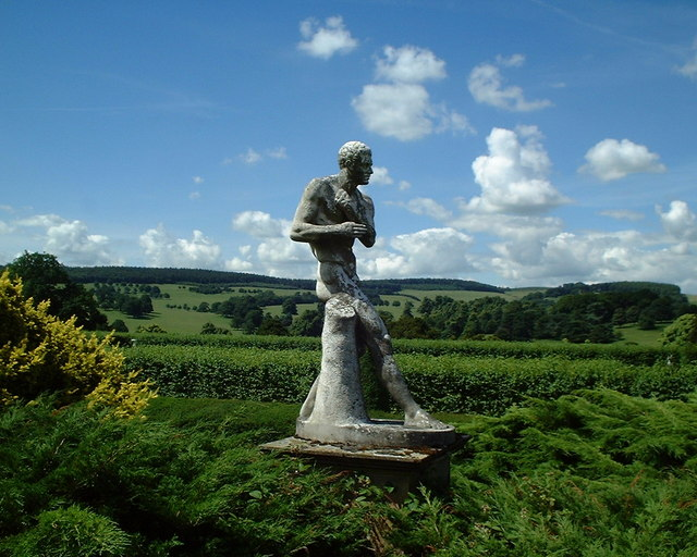Chatsworth House - Garden Statue
