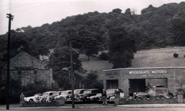 Woodseats Motors Circa 1950 Woodseats Jnc Cobnar Road