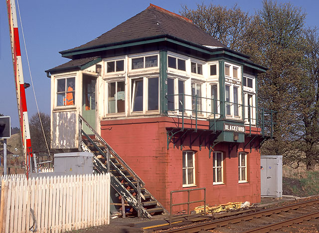 Blackford Signal Box