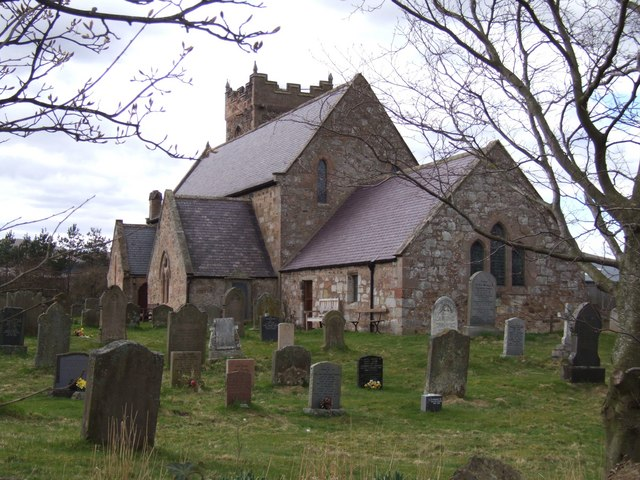 St. Gregory's Church, Kirknewton. Northumberland.