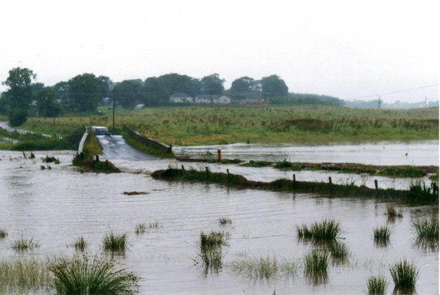 Flood at Bridge over Dippool Water