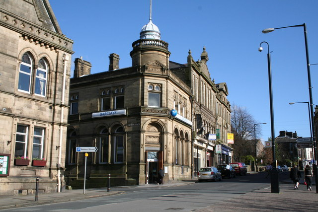 Barclays Bank, Colne, Lancashire