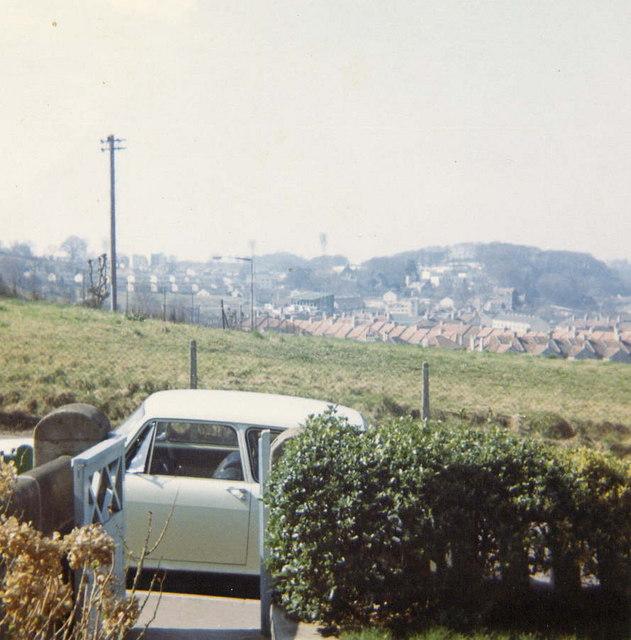 1969 Twerton With Bath City Football Ground