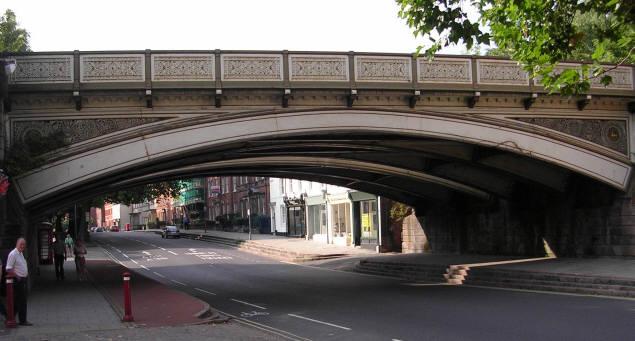 Friargate Railway Bridge