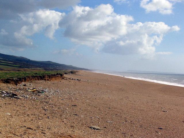 Cogden Beach looking East