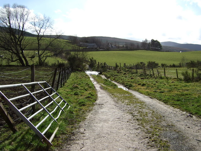 Lane from Haugh to Oldyleiper
