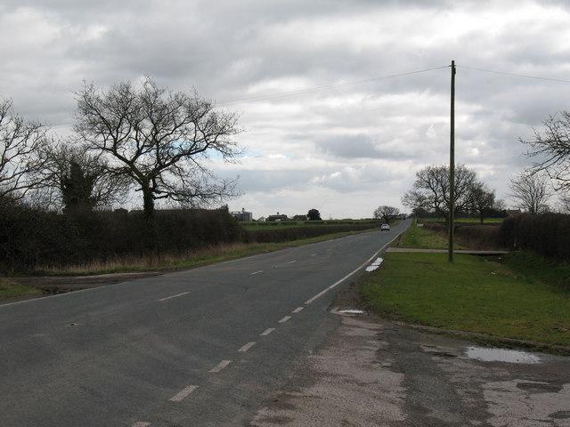 A167 near Topcliffe