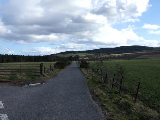 Road to Birse Church