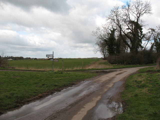 Road Junction near Catton