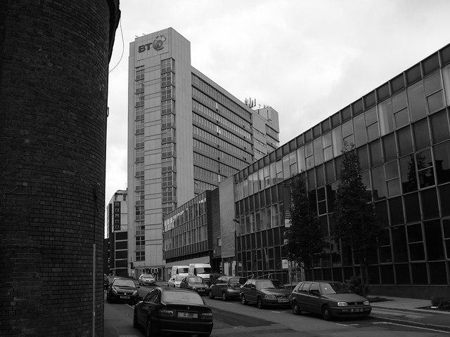 Sheffield Telephone House - Wellington St