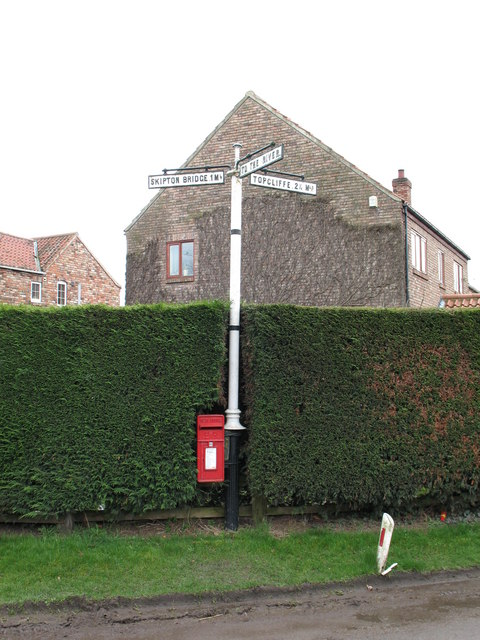 Cast Iron Signpost in Catton