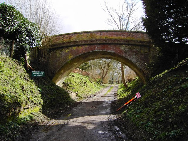 Bridge over bridleway, Southcott, Wiltshire