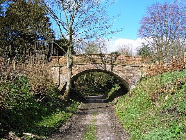 Bridge over bridleway, Southcott, Wiltshire (2)