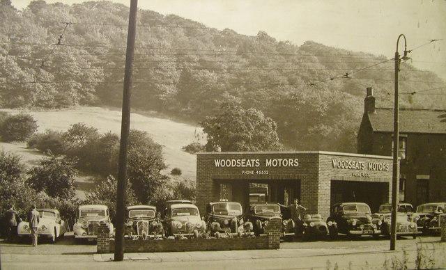 Woodseats Motors Circa 1950 Woodseats Jnc Cobnar Road
