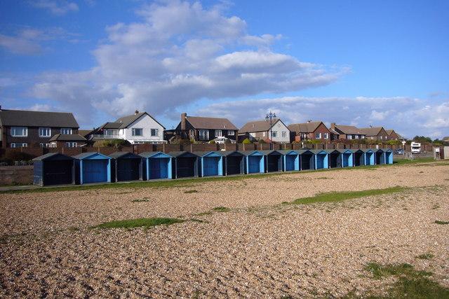 Beach-huts Eastney Esplanade