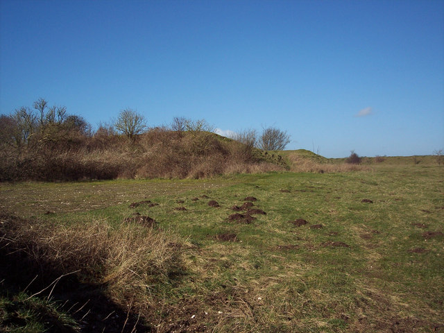 Disused rifle ranges, Martin Down National Nature Reserve