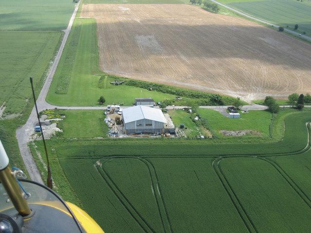 Wiltshire Microlight Centre, Yatesbury Field, Nr Cherhill, Wiltshire