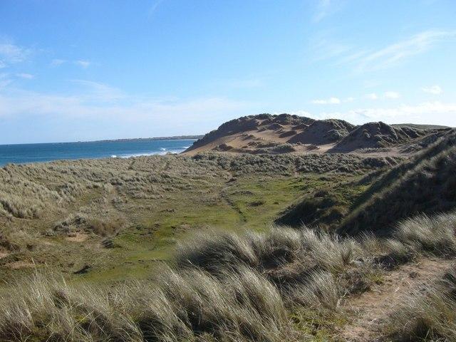 Dunes at Fraserburgh Bay