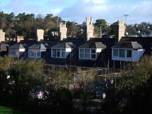 Chimneys on Sherwell Lane