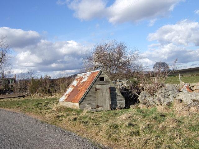 'Chicken coop' at Drumneachie