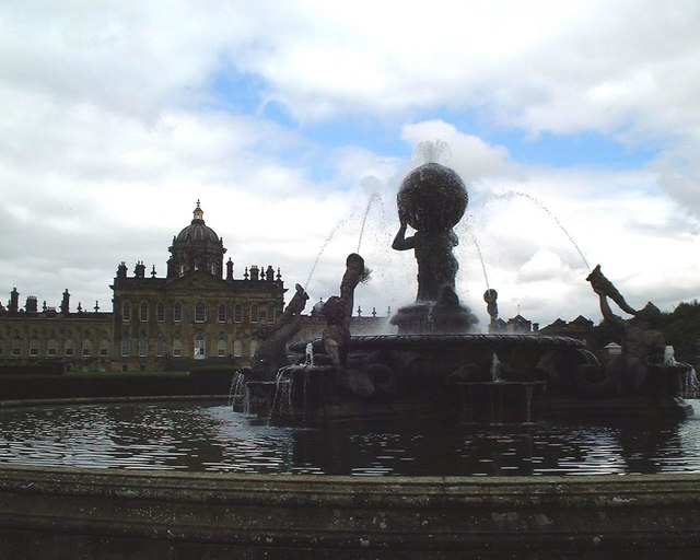 Castle Howard - Fountain