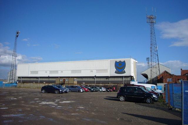 Fratton Park football stadium