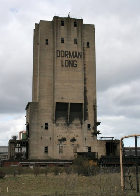 Disused Tower at the South Bank Coke Works