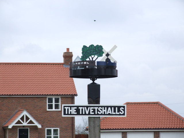 Village Sign, The Tivetshalls