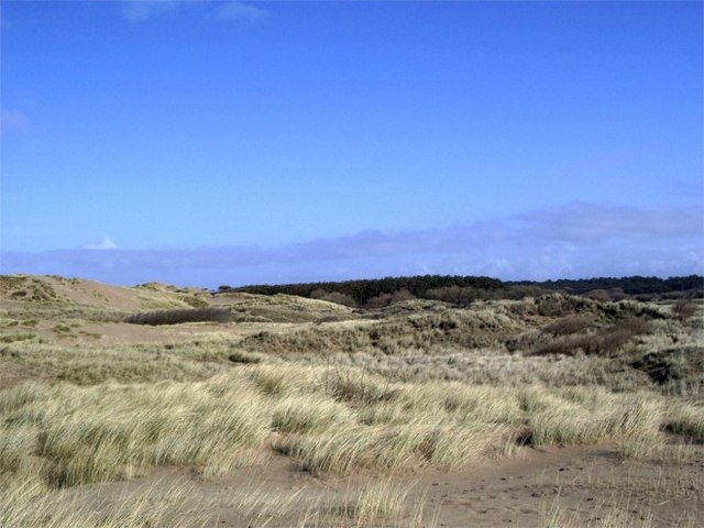 Dune system at Formby Point
