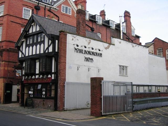 Marlbororough Arms, St John's Street, Chester