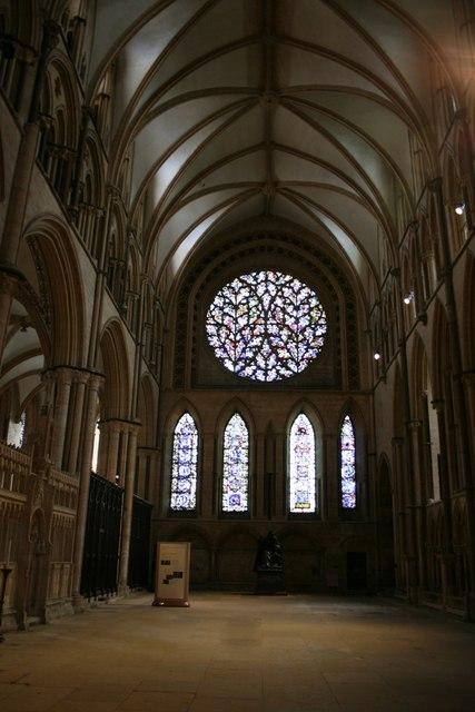 South transept & the Bishop's Eye