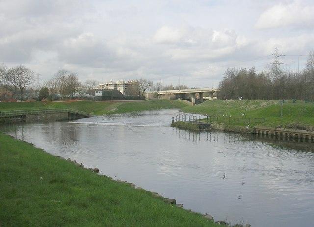 River Mersey, Northenden